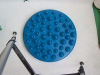 Cando Progressive Instability Pad - Blue - 20 Inch Diameter - Level 4