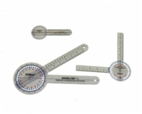 Baseline Hires 360 Degree Clear Plastic Goniometer, 8 Inches