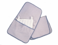 Relief Pak Moist Heat Pack Cover, Velour With Foam, Halfsize