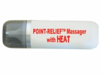 Point-Relief Mini-Massager With Heat And Accessories