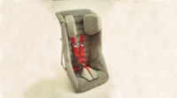 Columbia/Britax Small Adult Positioning Seat