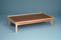 Mat Platform With Raised Rim, 7'X3'X19""