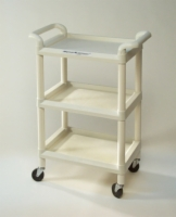 Mettler 73 Plastic 3-Shelf Cart