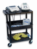 Mettler 75 3-Shelf Cart With Locking Wheels And 3-Hospital Grade Outlets