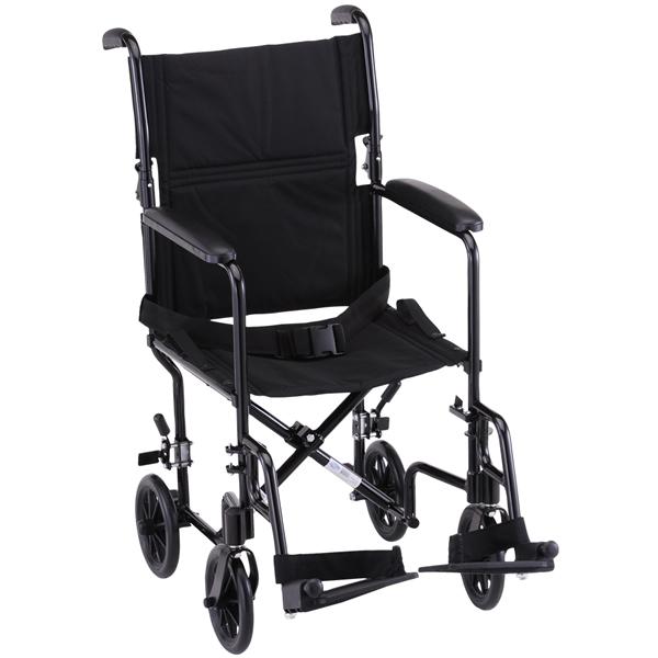 Steel Transport Chair  sc 1 st  US Medical Supplies & Nova Ortho-Med Steel Transport Chair | Transport Wheelchairs
