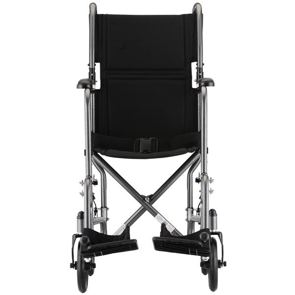 Steel Transport Chair - Hammertone Finish  sc 1 st  US Medical Supplies & Nova Ortho-Med Steel Transport Chair with Hammertone Finish ...