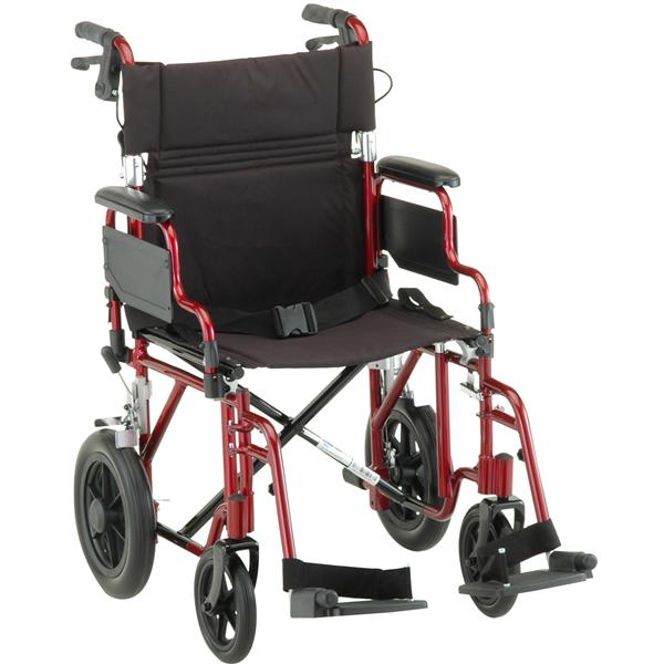 Nova Ortho Med Deluxe Lightweight Transport Chair