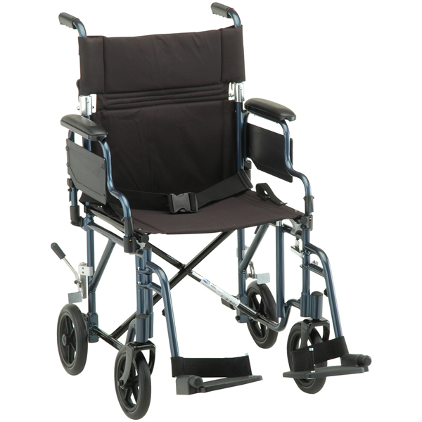 Deluxe Lightweight Transport Chair  sc 1 st  US Medical Supplies & Nova Ortho-Med Deluxe Lightweight Transport Chair | Transport ...