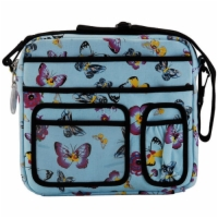 Nova Saddle Bag - Butterflies