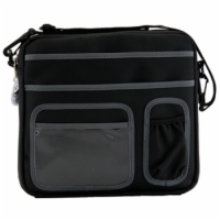 Nova Saddle Bag - Black