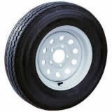 "Millard Spare Tire & Wheel 4.8"" x 12"" White Rim"