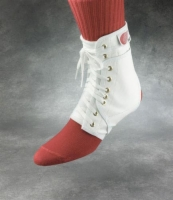 Swede-O Ankle Lok Large w/ Stabilizers  White