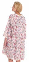 Thermagown Patient Gown Ladies Print