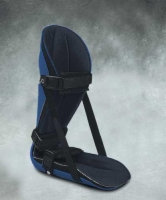 Night Splint Adjustable Black Large Swede-O