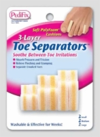 3-Layer Toe Separators (Pk/6 2-Sm  2-Md  2-Lg)(P280)