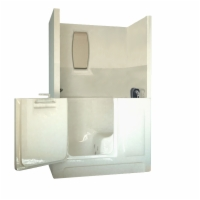 Sanctuary Shower Enclosure Walk-In Bath, Medium
