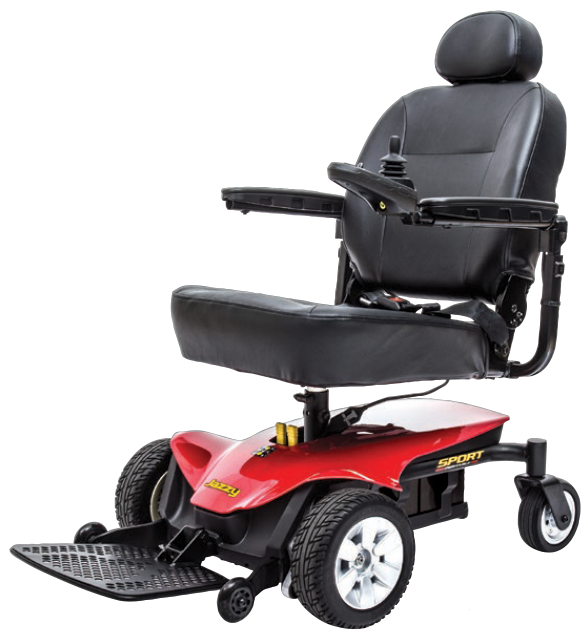 The jazzy sport portable power chair Portable motorized wheelchair