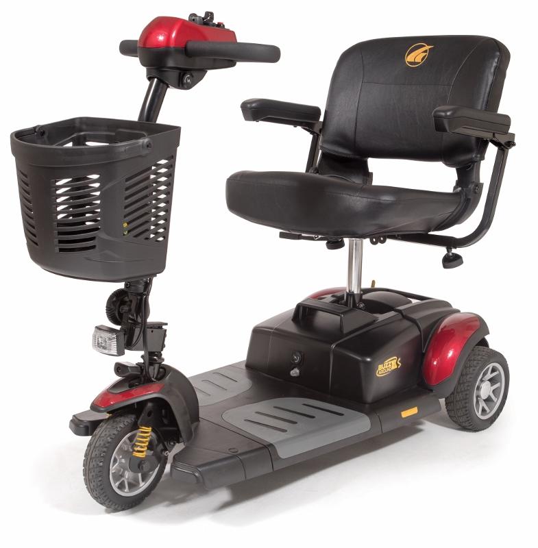 Golden Buzzaround Xl S 3 Wheel Mobility Scooter