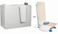 Walk In Bath vs. Bath Lift - Which is Right For You?