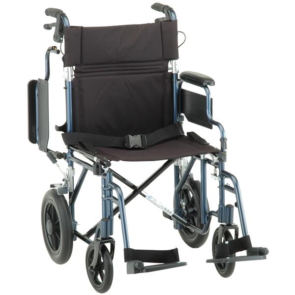 Nova Ortho Med Deluxe Lightweight Transport Chair Transport