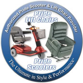 Pride Authorized Scooters and LIft Chair Provider