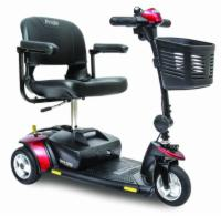 Pride Go-Go Elite Traveller - 3 Wheel Handicap Travel Scooter