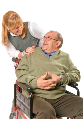 A caregiver for an elderly person may find that a lift chair will help them greatly in their day to day duties.