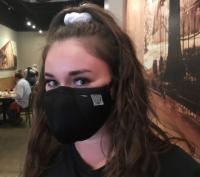 Waitress in Face Mask 1