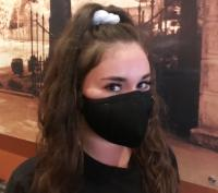 Waitress in Face Mask 2